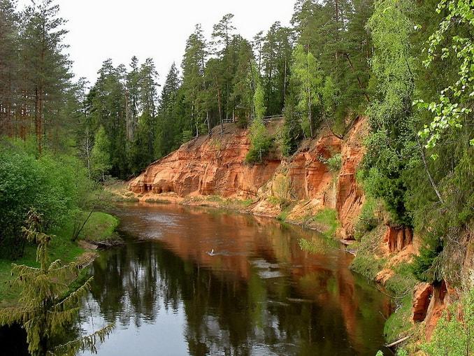 Национальный парк Гауя, Латвия