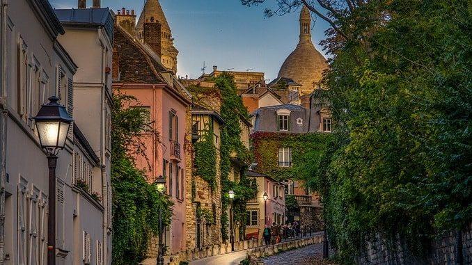 Париж, сентябрь