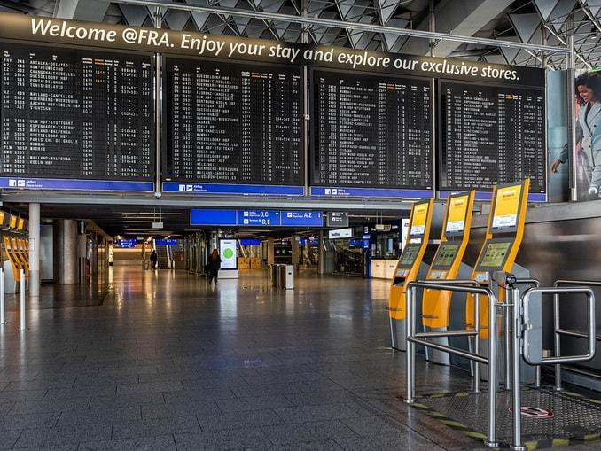 Аэропорт Франкфурта, Германия