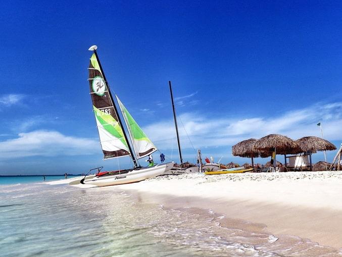 Пляж на Кайо-Гильермо, Куба