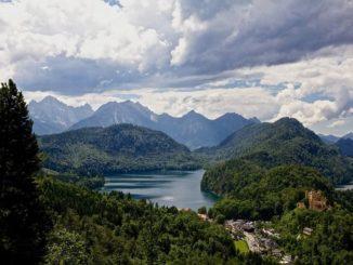 Германия: Хоэншвангау и Альпы