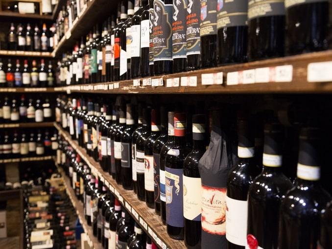 Магазин вина в Италии, Монтальчино