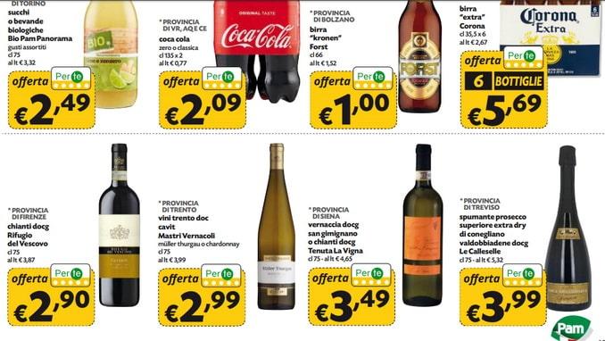 Цены на вино в итальянском супермаркете