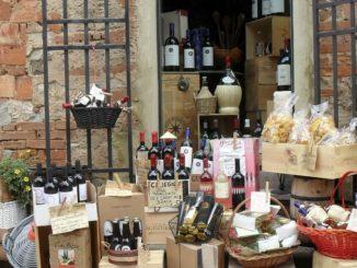 Винный магазин в Италии
