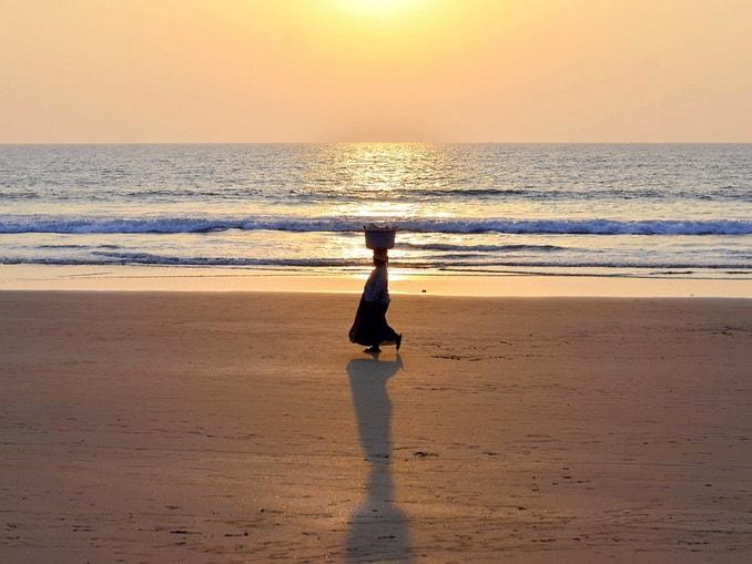 Пляж Вагатор, Гоа, Индия
