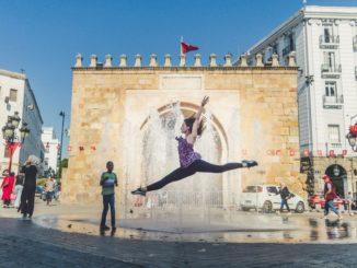 Тунис, балет на улице
