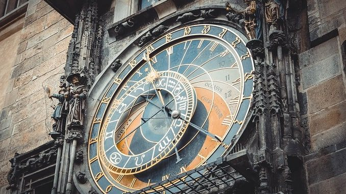 Часы, Прага, Чехия