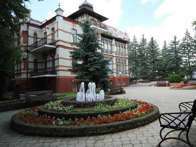 Пансионат Шаляпин в Кисловодске