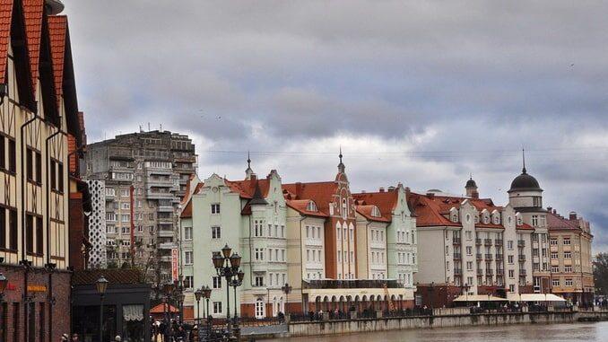 """""""Рыбная деревня"""" в Калининграде в ноябре"""