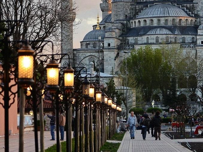 Стамбул, Турция, осень