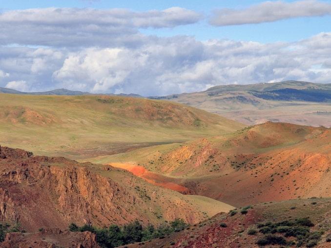 Цветные горы, Алтайский Марс