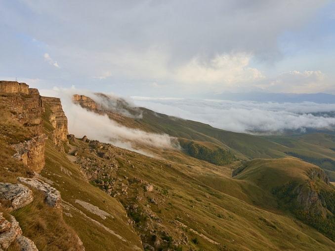 Вид с плато Бермамыт, Карачаево-Черкесия