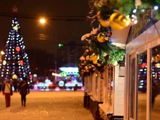 Москва в декабре, Россия