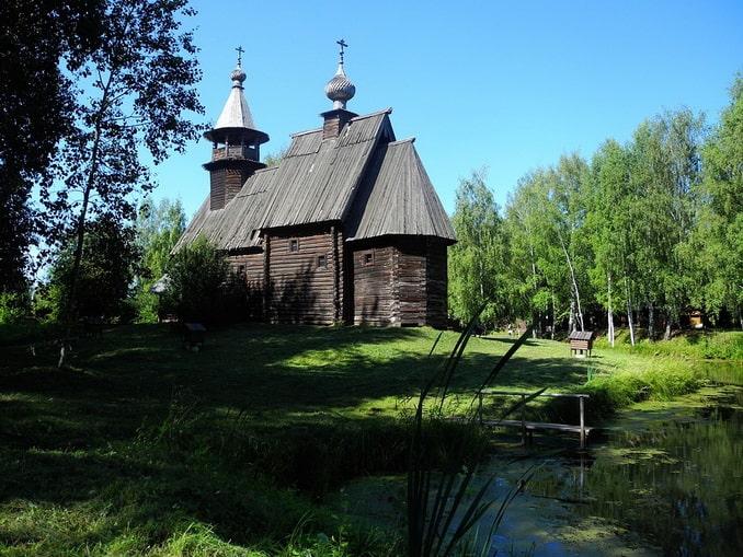 Церковь в Костромской слободе