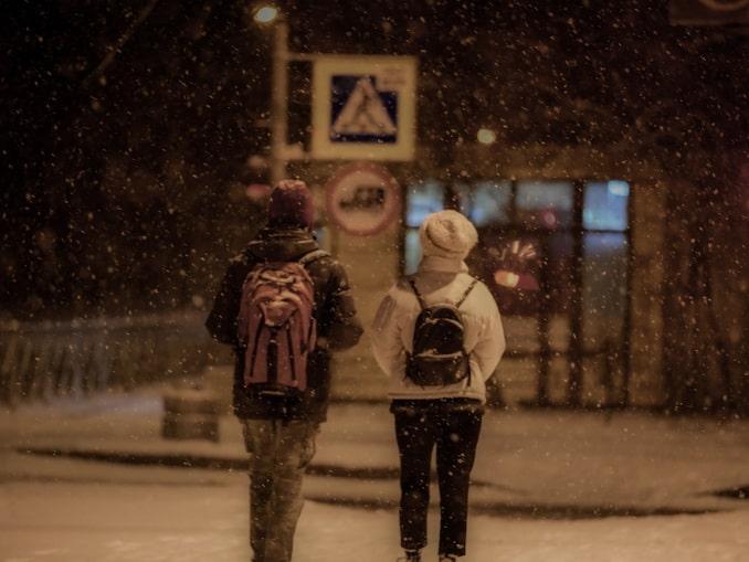 Ненастная ночь в Санкт-Петербурге