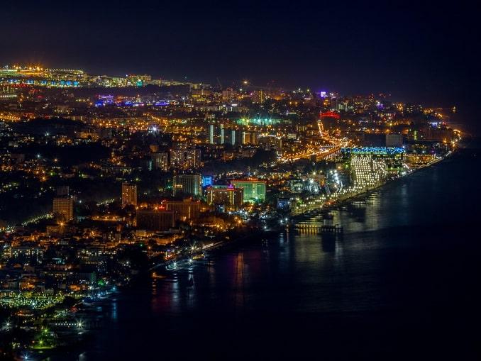 Вечерний Сочи, Россия