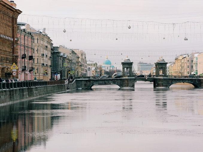 Санкт-Петербург, река Фонтанка
