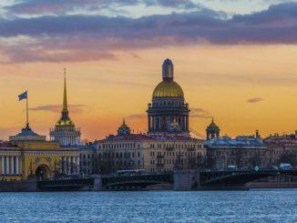 Зимний Санкт-Петербург, Россия
