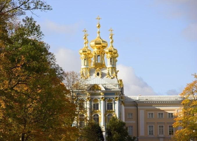 Царское Село, осень