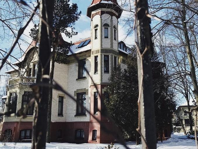Дом в районе Амалиенау, Калининград