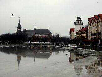 Калининград, зима