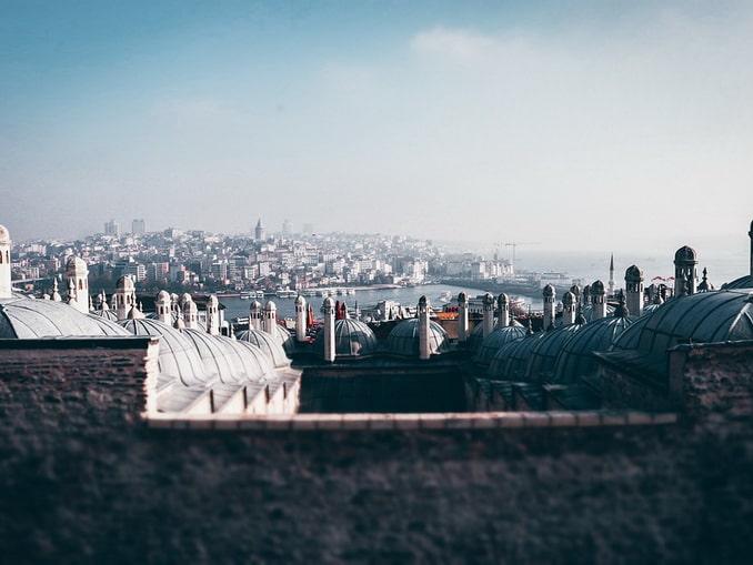 Стамбул, вид на крыши