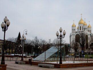 Калининград, Россия, декабрь