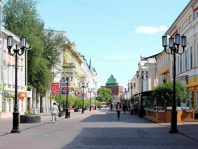 Улица Большая Покровская, Нижний Новгород