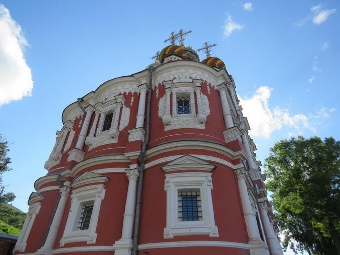 Рождественская церковь в Нижнем Новгороде, Россия