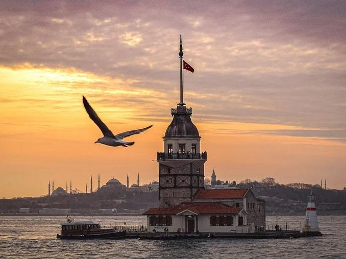 Закат на Босфоре, Турция