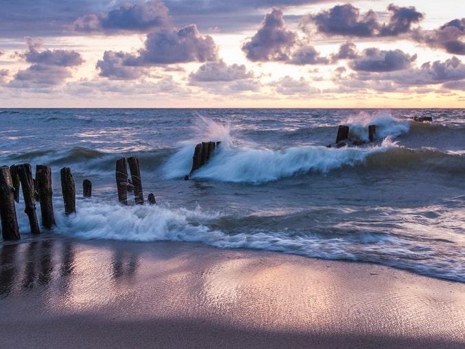 Балтийское море, Калининградская область