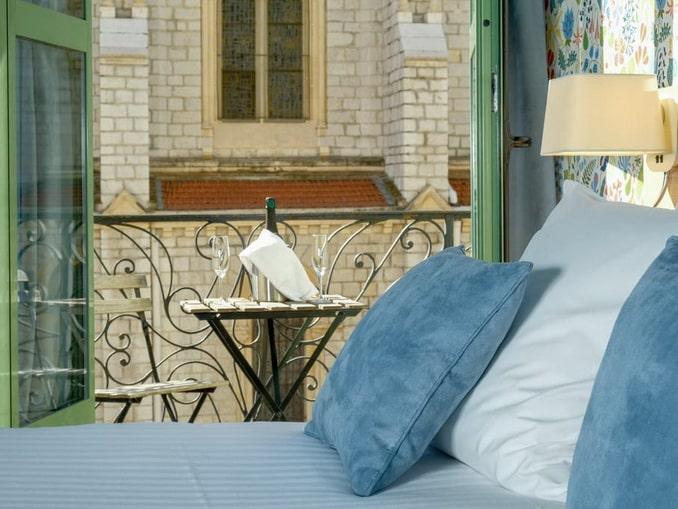 Hôtel Du Centre в Ницце - вид из окна