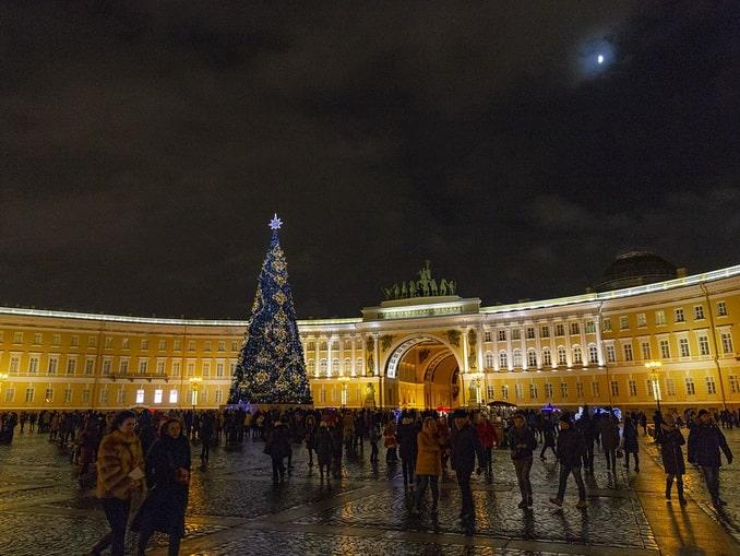 В Санкт-Петербург зимой хочет поехать каждый