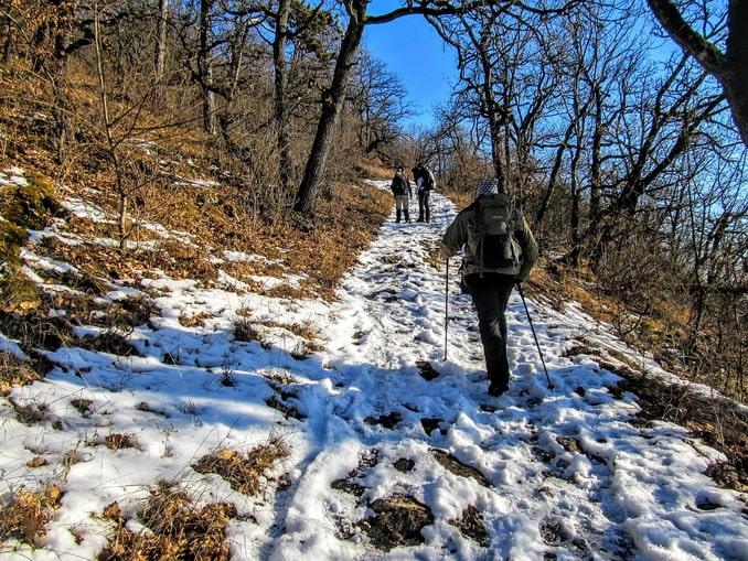 Пешая прогулка в зимнем Кисловодске