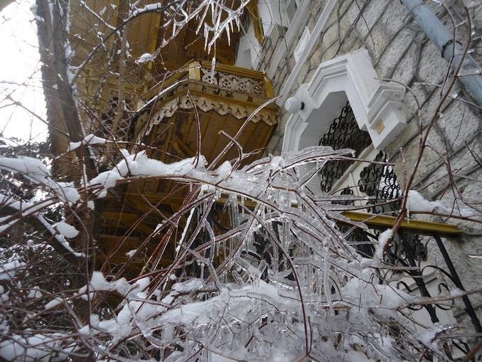 Зимняя сказка в Ялте, Крым