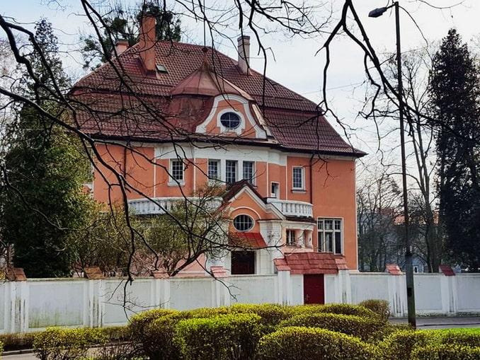 Вилла в Амалиенау, Калининград