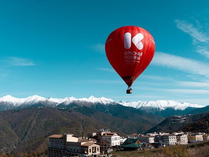 Воздушный шар, Эсто-Садок, Сочи