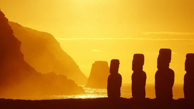 Остров Пасхи - одна из достопримечательностей Южной Америки