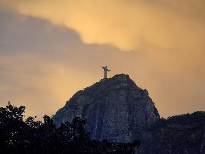 Христос Искупитель в Рио-де-Жайнейро, Южная Америка