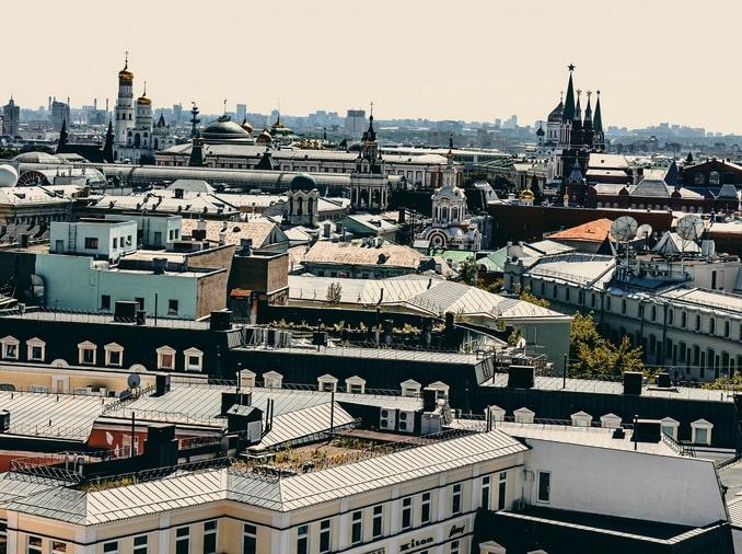 Крыши Москвы - что с них можно увидеть?