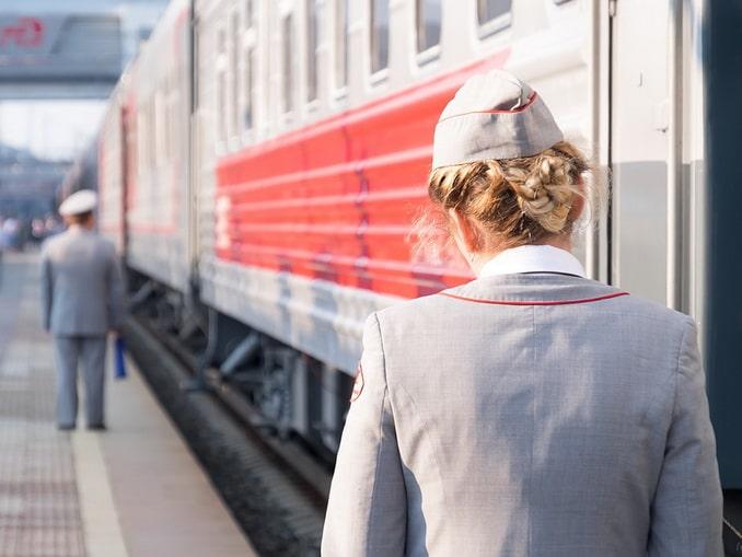 На поезде по России в апреле