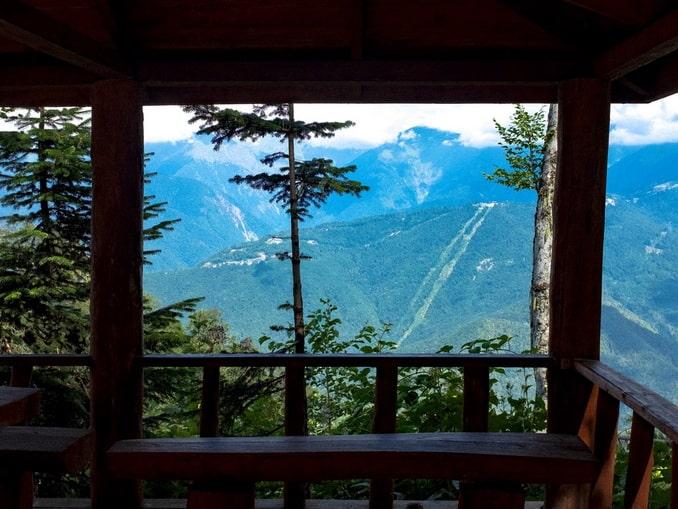 Кавказские горы, Сочи, лето