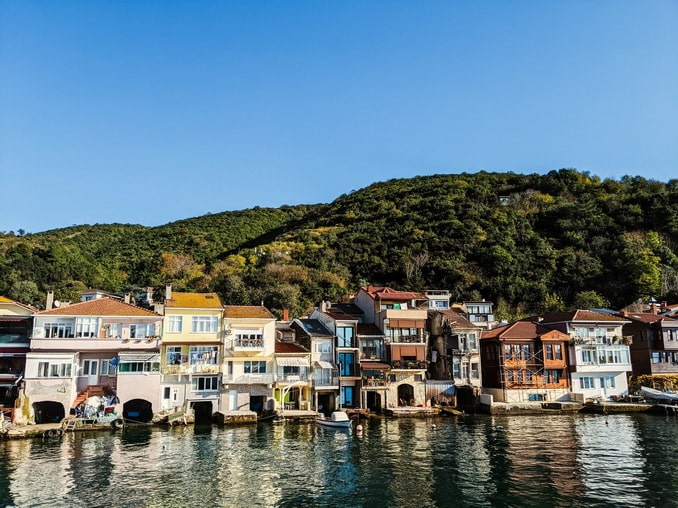 Деревня Анадолукавагы под Стамбулом