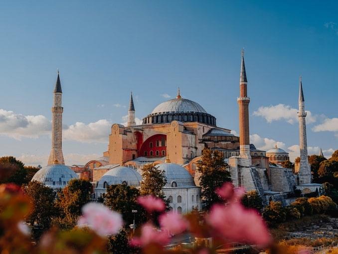 Стамбул в начале сентября хорош - Айя София