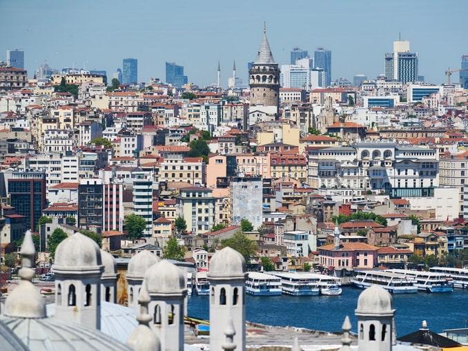 Так выглядит Стамбул в начале июня