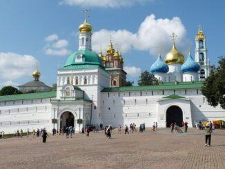 Сергиев Посад - город России, входящий в Золотое кольцо