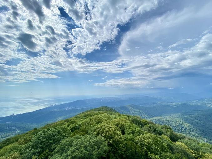 Гора Ахун - стоит ли ехать в Сочи в июне