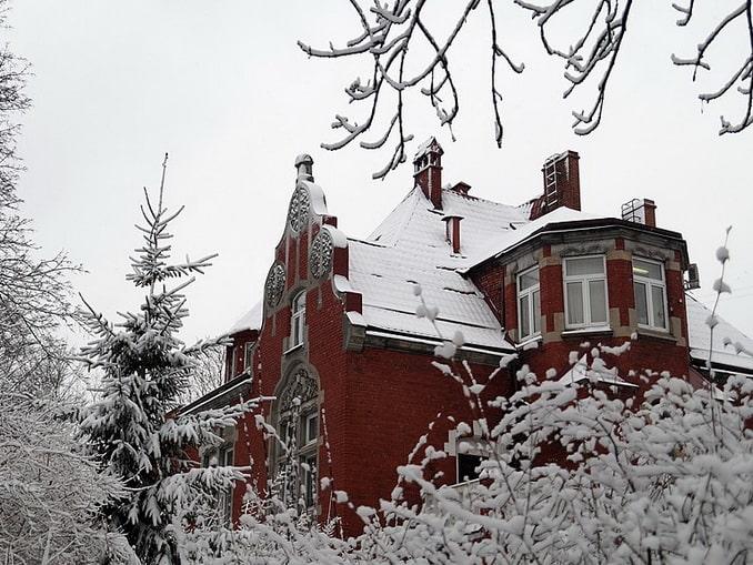 В Калининграде можно отлично встретить Рождество Амалиенау в Калининграде, фото Edward Y