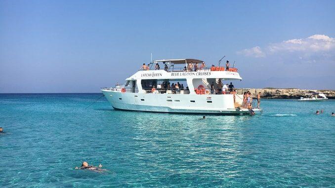 Море на Кипре в июле