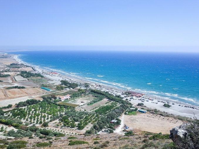 Развалины Куриона нужно посетить на Кипре